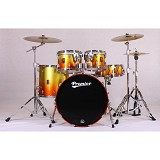 PREMIER Maple Shell Drum Kit XPK Series [KIT 1] - Gold Dusk Sparkle Lacquer - Drum Kit